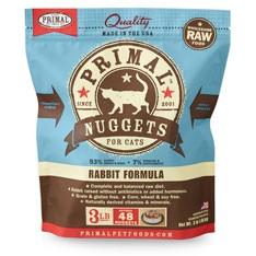 Primal 急凍兔肉貓糧 3lb x4包優惠