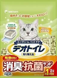 日本 Unicharm 消臭大師 沸石砂 4L