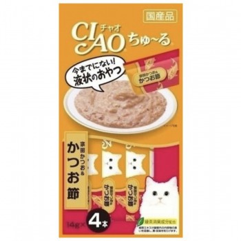 CIAO - 4SC-75 宗田鰹+木魚醬(14g x 4)