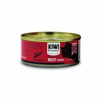 Kiwi Kitchens 紐西蘭 93%牛肉 貓罐頭 85g