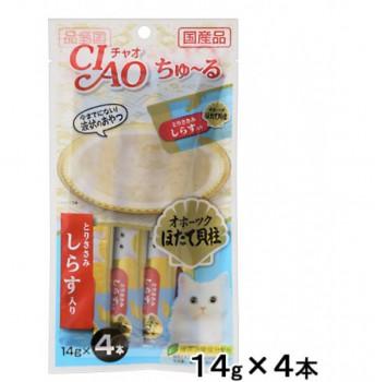 CIAO - SC-103 雞肉+白飯魚醬(14g x 4)