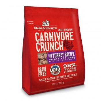 Stella & Chewy's - Carnivore Crunch Turkey - 火雞肉3.25oz