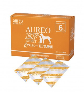 AUREO EF FOR PET 黃金黑酵母6ML X 30包裝