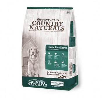 Country Naturals 白鮭魚雞肉無穀物低糖全犬種配方 Grain Free Formula25磅