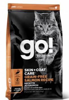 Go! Solution 護膚美毛系列-無穀物三文魚貓糧 16磅