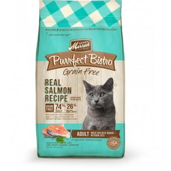 Merrick 無穀物天然貓糧 三文魚+甜薯配方 12磅