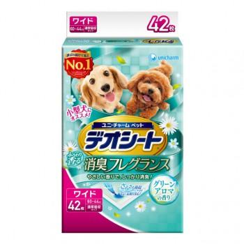 【日本Unicharm消臭大師】庭園香狗尿墊 LL(42片/包) 60 X 44cm