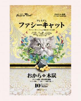 FUSSIE CAT 豆腐貓砂 木炭味豆腐貓砂 7L