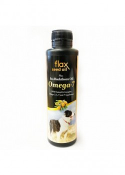 FourFlax Flax Oil Plus Sea Buckthorn Omega 7 亞麻籽油+沙棘植物果油 250ml