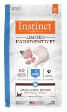 Nature's Variety Instinct 本能無穀物火雞配方 單一蛋白系列11磅