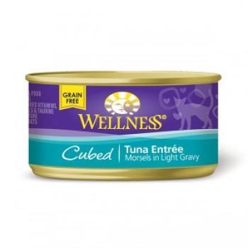 Wellness粒粒吞拿魚罐頭 3oz (85g) Cubed Tuna Entree
