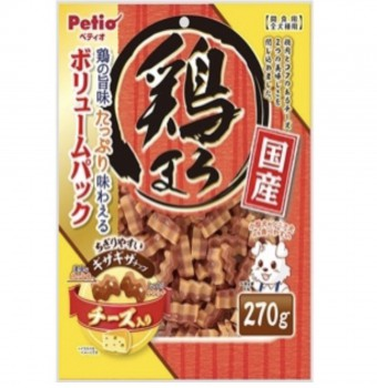 Petio狗小食美味雞胸肉及 芝士波浪條 270g