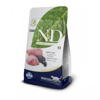 Natural & Delicious 藍莓加羊成貓配方乾糧5kg
