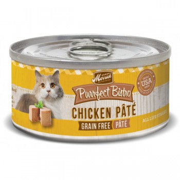 Merrick 無穀物雞肉肉醬貓罐頭 5.5oz
