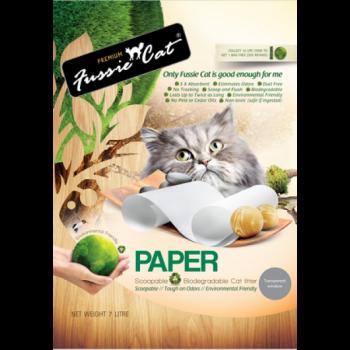 Fussie Cat 環保紙貓砂 7L x7包優惠