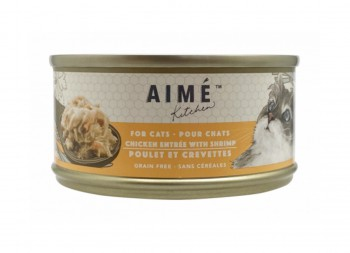 Aime Kitchen Original系列貓罐頭 - 雞肉配蝦仁 85g