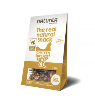 Naturea 天然鮮肉小食~雞胸肉 80g