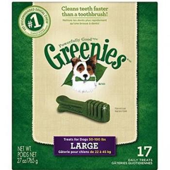 Greenies  潔齒骨 大型犬 27oz