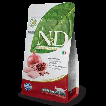 Natural & Delicious 石榴加雞成貓配方乾糧1.5kg