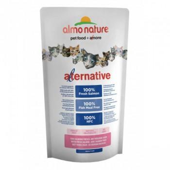 Almo Nature Alternative 新鮮三文魚 成貓糧 750g