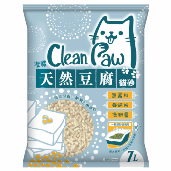 Clean Paw 潔寶 豆腐貓砂 7L x6包優惠