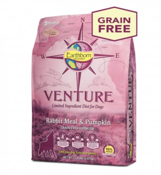 Earthborn Holistic Venture 兔肉+南瓜 單一蛋白配方 全犬 4磅