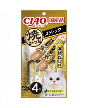 **換購優惠** CIAO SC-272 燒鰹魚片 木魚湯味(4片)