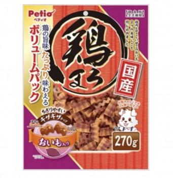 Petio狗小食美味雞胸肉及 甘薯波浪條 270g