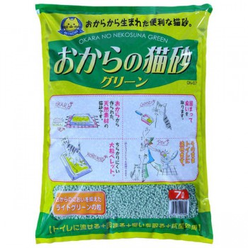 Hitachi - 翠綠環保豆腐貓砂6L x4包優惠