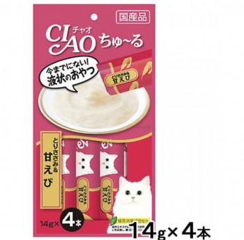 CIAO - SC-142 雞肉+甜蝦醬(14g x 4)