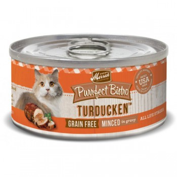Merrick 無穀物 火雞+鴨肉 雞湯 貓罐頭 (Turducken) 3oz