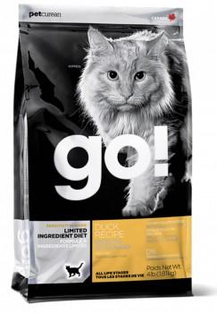 Go! Solution 低敏美毛系列-鴨肉貓糧 16磅