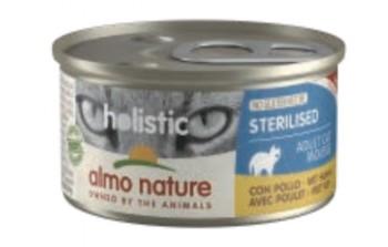 Almo nature 絕育貓主食罐-雞肉85g