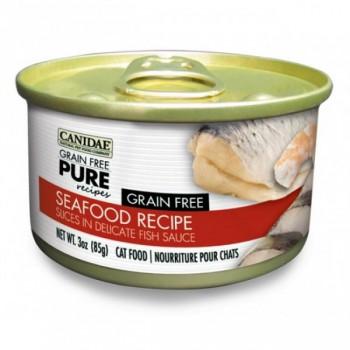 Canidae PURE 無穀物 薄切 海鮮貓罐頭 (3 oz)