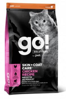 Go! Solution 護膚美毛系列-雞肉貓糧 8磅