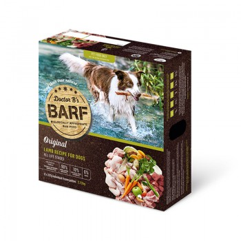 Dr. B 急凍羊肉蔬菜狗糧 6lb  x4盒優惠