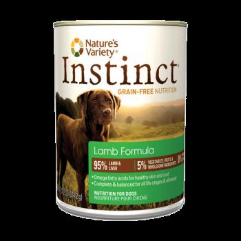 Nature's Variety Instinct  羊肉狗罐頭 13.2oz