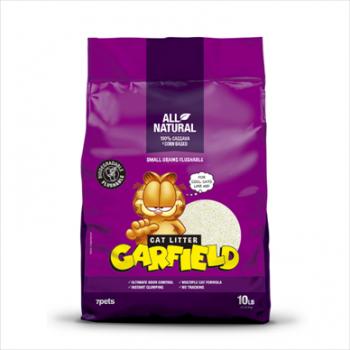Garfield Cat Litter-加菲貓凝結貓砂-粗顆粒可沖廁 玉米+木薯 10Lb
