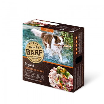 Dr. B 急凍雞肉蔬菜狗糧 6lb  x4盒優惠