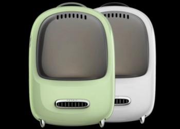 PetKit - Evertravel Bag 智能換氣外出背囊(白色/牛油果綠色)