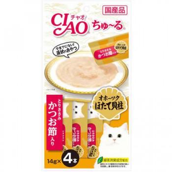 Ciao SC-102 雞肉+鰹魚醬 14g (14g x4)