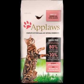 Applaws 全天然無谷物成貓糧雞肉&三文魚配方7.5kg