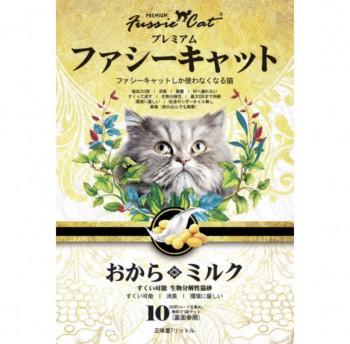 FUSSIE CAT 豆腐貓砂 おから。ミルク 牛奶味豆腐貓砂 7L