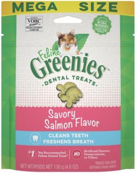 Greenies 貓貓潔齒餅 三文魚味 4.6 OZ