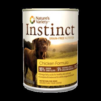 Nature's Variety Instinct 雞肉狗罐頭 13.2oz