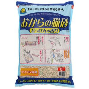 Hitachi -  藍色肥皂味豆腐貓砂 6L x4包優惠