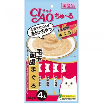 Ciao SC-101 吞拿魚醬(化毛球) 14g (14g x 4包) x2