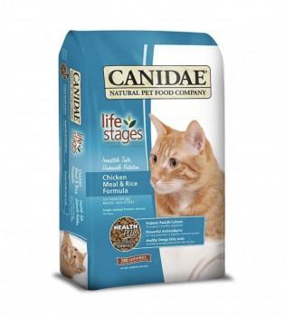Canidae 雞肉糙米配方貓乾糧4磅