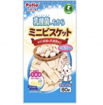 Petio狗小食乳酸菌 迷你餅乾 M 80g