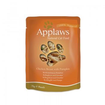 Applaws chicken with pumpkin in Broth Pouch 雞+南瓜 70g